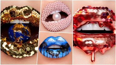 Makeup Artist Vlada Haggerty Creates Surreal Lip Art That Will Make You Look Twice